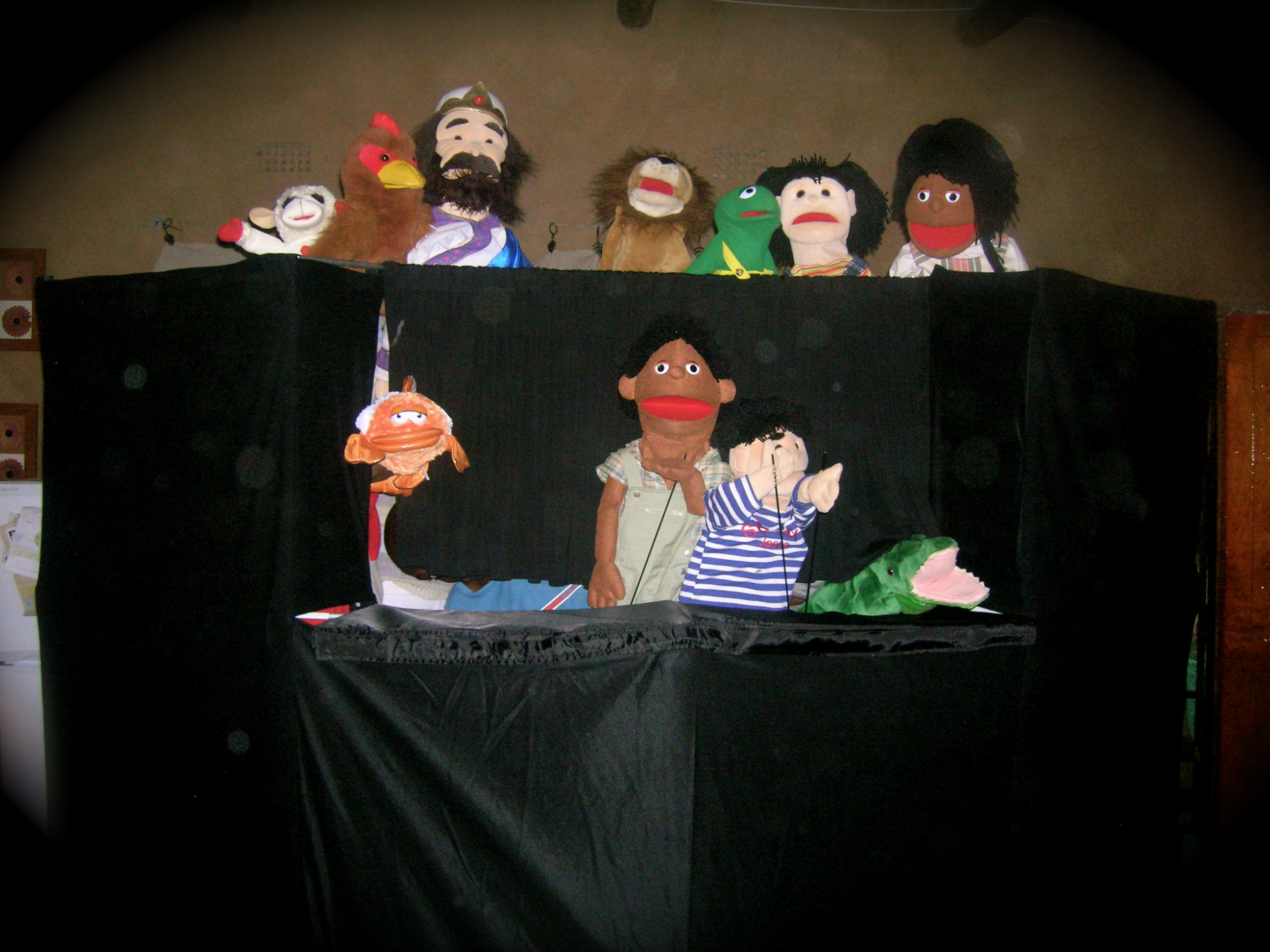 Puppets for Africa