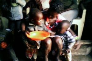 mama & kids at camp