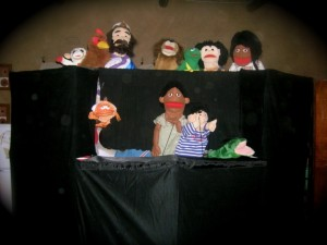 puppets together